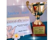 ハワイカップ2016 ジェルデザイン準優勝!オーナー久岡 美幸
