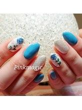 ピンクマジック(PINKMAGIC)/ブルーの薔薇