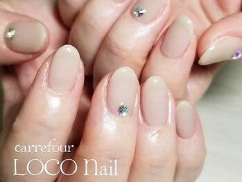 カルフール ロコ ネイル 草加西口店(Carrefour LOCO nail)/パラジェルベースのワンカラー