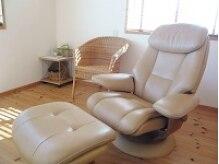 英国式リフレクソロジー 自宅サロン コンフォータブル(comfortable)の雰囲気(使用する物は使い切り・使い捨て。このチェアも毎回清拭します)