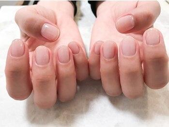 ネイルルーム ノエラ(Nailroom Noella)の写真/自爪が薄い/弱い/割れやすいなどでお悩みの方にもオススメ◎自爪に優しいパラジェルでダメージを最小限に!