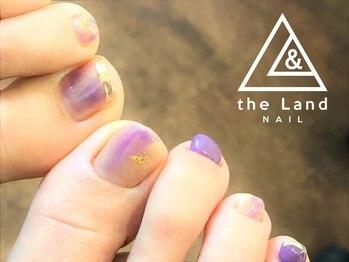 ザ ランド ネイル(the Land Nail)/ゆるやかな紫 △浅井