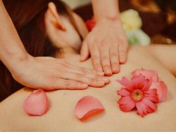 ヨガアンドリンパサロン シャラ(shala)の写真/アロマで癒され、リラックスしながら日常の疲れ・ストレスを解消♪アロマで癒されながら健康な体に☆