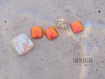 ネイルパティオ 草加店(nail patio)/FOOTデザイン☆¥8500コース