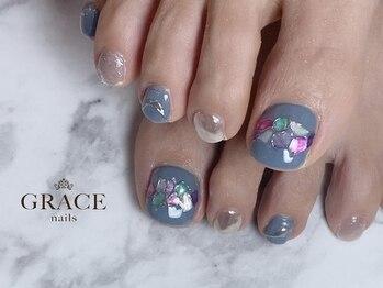 グレース ネイルズ(GRACE nails)/秋にシェル