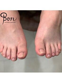 ネイルアトリエ ボン(nail atelier bon)/メンズフットネイルケア