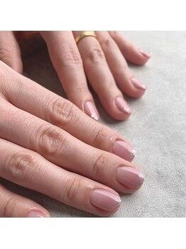 リューナネイル(gluna nail)の写真/どこから見ても美しいフォルムで上品仕上げ《Handジェルワンカラー¥4,000★》カラーの種類豊富にご用意。