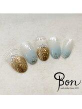 ネイルアトリエ ボン(nail atelier bon)/マニキュアデザインネイル