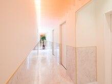 キレミカ 越谷店の雰囲気(全ての施術室を個室にして、プライバシーにも配慮しています♪)