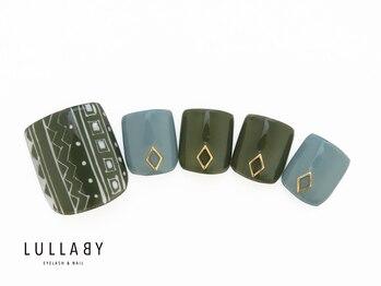 ララバイ 恵比寿店(LULLABY)/秋色フットネイル