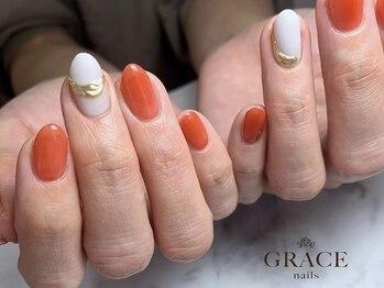 グレース ネイルズ(GRACE nails)/クリアテラコッタ