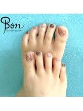 ネイルアトリエ ボン(nail atelier bon)/シェラックデザインネイル