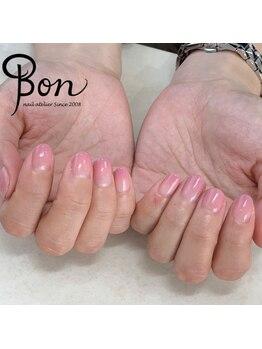 ネイルアトリエ ボン(nail atelier bon)/ジェルグラデーション