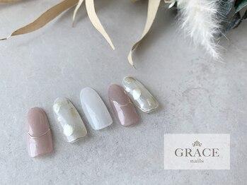 グレース ネイルズ(GRACE nails)/ニュアンスミラー