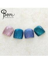 ネイルアトリエ ボン(nail atelier bon)/シェラックラメカラー