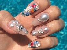 クリアネイル(Private Salon clear nail)の雰囲気(new!可愛い刺繍artで指先をオシャレに!)