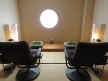 温活サロン 藻奥(macomo spa)の雰囲気(ハーブテントの後はこちらのチェアでゆっくりと休んでください♪)