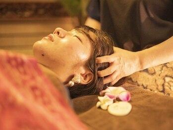 クプクプ(kupukupu)の写真/【バリ風サロンで寛ぎのひと時を…】体調や気分に合わせたアロマでリンパやヘッドを温感マッサージ!