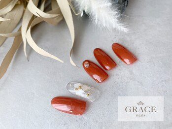 グレース ネイルズ(GRACE nails)/残暑ネイル