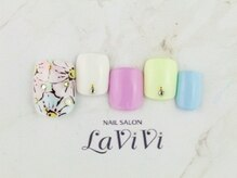 ラヴィヴィ 表参道店(LAVIVI.)/フットネイル