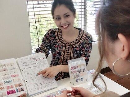 ネイルサロンアジアン 西新宿店の写真