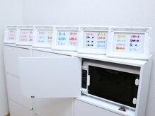 紫外線消毒器を完備!!使用した道具は衛生的に管理。