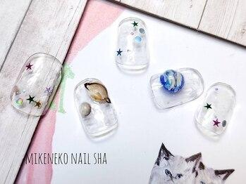 ミケネコネイル社/アート10本やり放題¥8900