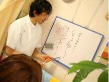 小川ボディバランスオフィスの雰囲気(わかりやすく現在の身体の歪みの原因・状態を説明。安心&納得☆)