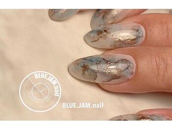 ブルージャムネイル(BLUE.JAM.nail)/大人ナチュラルストーン