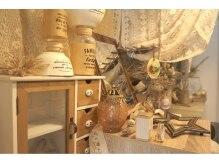 ビィリア 宮前平(eyelash salon Bilia)の雰囲気(可愛い雰囲気のサロンで癒しのひととき…♪)