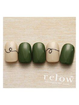 リロウ(relow)/10月のスタッフおすすめネイル♪