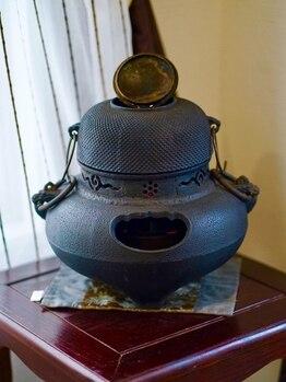 漢方セラピーサロン シエルブリュ(Ciel Bleu)/風炉は加湿器にしています