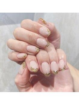 ケーオーエス(KOS)/gold leaf nail