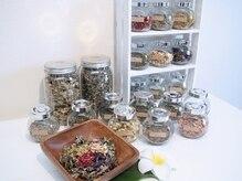 アロマ リタ(Aroma Lita)の雰囲気(20種類のハーブから好きなだけお選びいただけます♪)