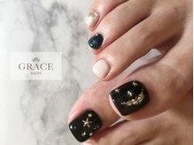 グレース ネイルズ(GRACE nails)/moon&stars