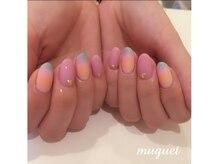 ネイルサロン ミュゲ(nail salon muguet)の雰囲気(細かいアートデザインもお任せOK♪)