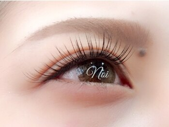 アイラッシュアンドネイル ノイ 笹塚店(eyelash nail Noi)の写真/新規★フラットラッシュ80本¥5000/120本¥6800!目の形を活かし、あなたの魅力を引き出し華やかに♪