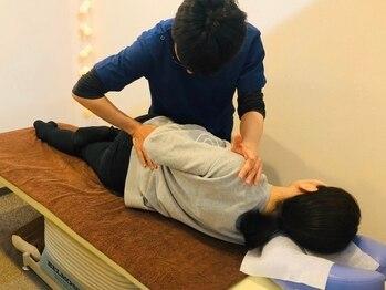 リラクゼーションサロン JMSの写真/身体の不調の原因は腰にあり!!身体の土台となる骨盤の歪みを整えて、長年のお悩みをすっきり解消♪