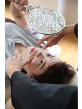 美容整体ナチュラル(natural)/頬のチェック