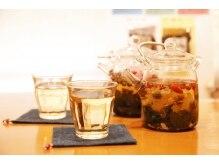 ナチュラルバランス 恵比寿店(NATURAL BALANCE)の雰囲気(施術後はお体に合わせて選んだ五行茶をお楽しみ頂けます)