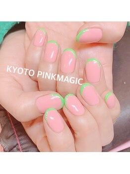 ピンクマジック(PINKMAGIC)/グリーンフレンチ