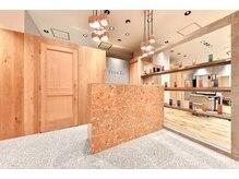 フィゼル あべのルシアス店(fizelle)の雰囲気(美容室の中にアイラッシュルームを設けております♪)
