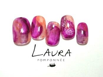 ローラポンポニー(Laura pomponnee)/フラワーニュアンス