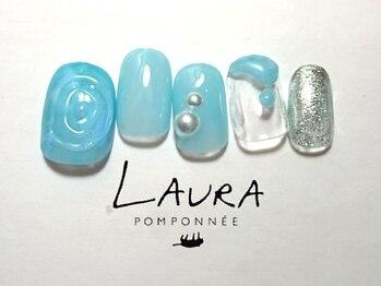 ローラポンポニー(Laura pomponnee)/ぷっくりネイル