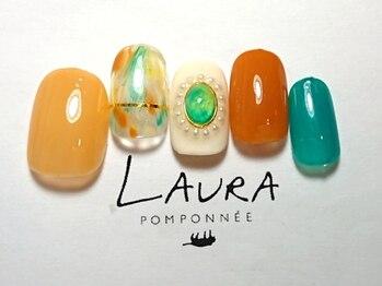 ローラポンポニー(Laura pomponnee)/夏カラーデザイン