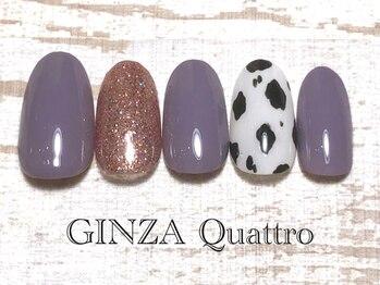 ギンザ クワトロ(GINZA Quattro)/定額/LuxuryA 6500円/グレージュ