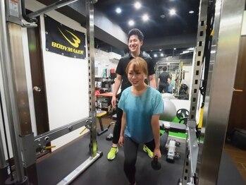 リフレッシュメント トレーニングジム(Refreshment Training Gym)/お尻のトレーニング