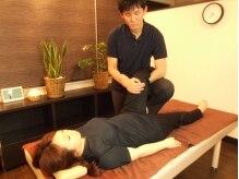 うりゅう ボディアクシスの雰囲気(一人一人の体に合わせて、施術します。施術後の変化を楽しんで♪)