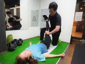 リフレッシュメント トレーニングジム(Refreshment Training Gym)/ストレッチも対応可能です。