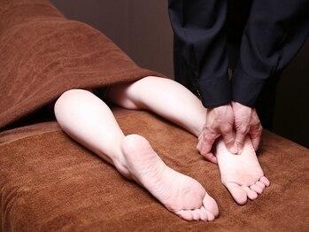 フォーグッド(FOR GOOD)の写真/『今日も1日座りっぱなしor立ちっぱなし』どちらにしても足はむくむもの。疲れを明日に残さずスッキリと!